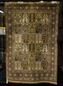 PERSIAN SILK PRAYER RUG (400-600)