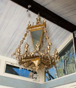 A Venetian gilt metal chandelier ($10,000-$15,000)