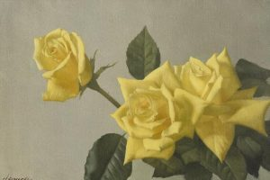 The Yellow Roses by Patrick Hennessey (1915-1980) (5,000-7,000)