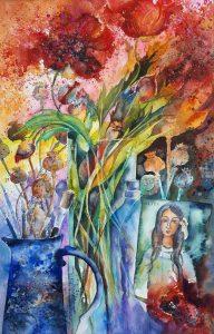 'Poppy Fantasia',  by Kate Befell