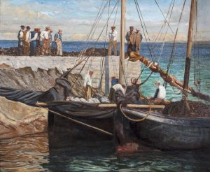 Sean Keating PRHA (1889-1977) Waiting for the Tide (50,000-70,000)