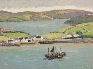 Kinsale by Letitia Marion Hamilton RHA (1878-1964) (4,000-6,000)