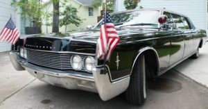 Henry Kissinger's personal Lincoln Continental.