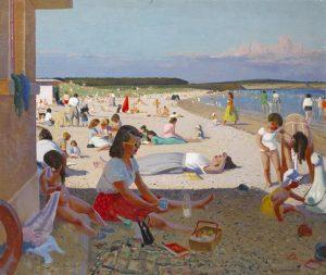 Patrick Leonard - A hot day in Rush, Co. Dublin (8,000-10,000)