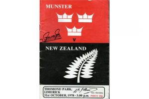 The Day Munster Conquered the All-Blacks Programme: Rugby: Munster R.F.C.