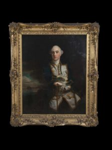 A portrait of Capt. John Byron, grandfather to the poet, from the studio of Sir Joshua Reynolds (35,000-45,000)