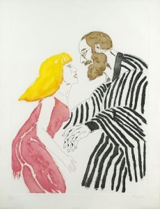 A drawing by Dame Elizabeth Frink at Whyte's online art auction (400-600)