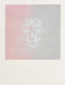 Louis le Brocquy - Study of Samuel Beckett 18/100 (700-1,000)