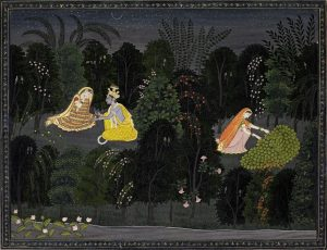 Radha consoled by Krishna made £353,000.
