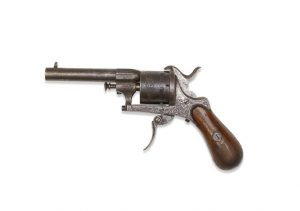The revolver used by Verlaine. © CHRISTIE'S IMAGES LIMITED 2016