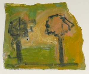 An artwork by Basil Blackshaw with an estimate of 300-500