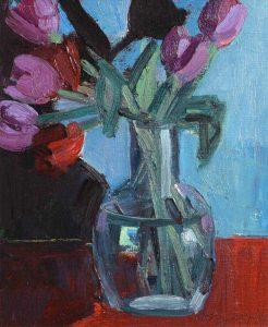 Tulips in a vase by Brian Ballard (900-1,200)