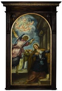 Jacopo Robusti known as Jacopo Tintoretto and Studio - The Angel foretelling St. Catherine of Alexandria  of her martyrdom (£100,000-150,000)