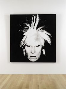 Andy Warhol - Self-Portrait (Fright Wig)