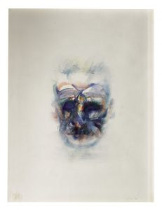 Image of James Joyce by Louis le Brocquy sold for £68,750.