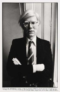 Andy Warhol photographed in London 1980 by John Minihan (archival photograph edition of 10) - 500-750