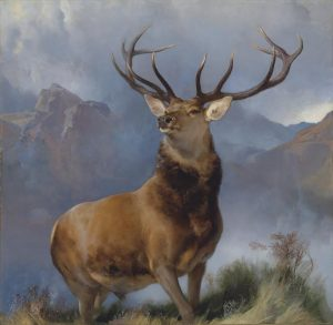 Sir Edwin Henry Landseer, R.A. (London 1802-1873) The Monarch of the Glen. Courtesy Christie's Images Ltd., 2016