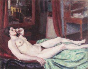 Roderic O'Conor (1860-1940) Etude de Nu (50,000-70,000)