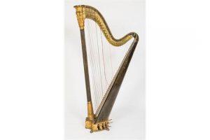 An Errard double action harp (1,500-2,500)