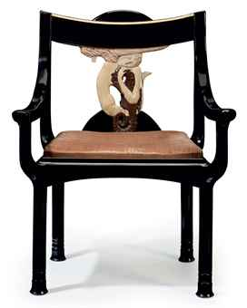 EILEEN GRAY SCREEN SELLS, Sirène ARMCHAIR UNSOLD ...