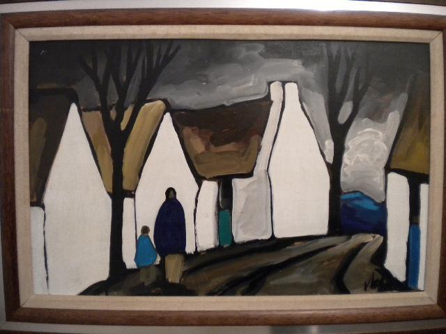 MARKEY ROBINSON'S BLUE DOOR AT FIRST IRISH ART AUCTION OF 2011