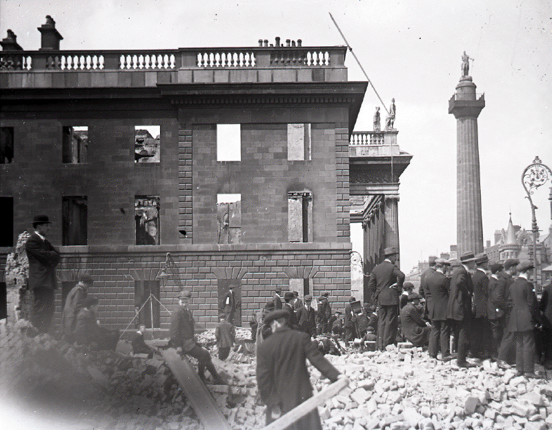 Rare Images Of Dublin After The Easter Rising Of 1916