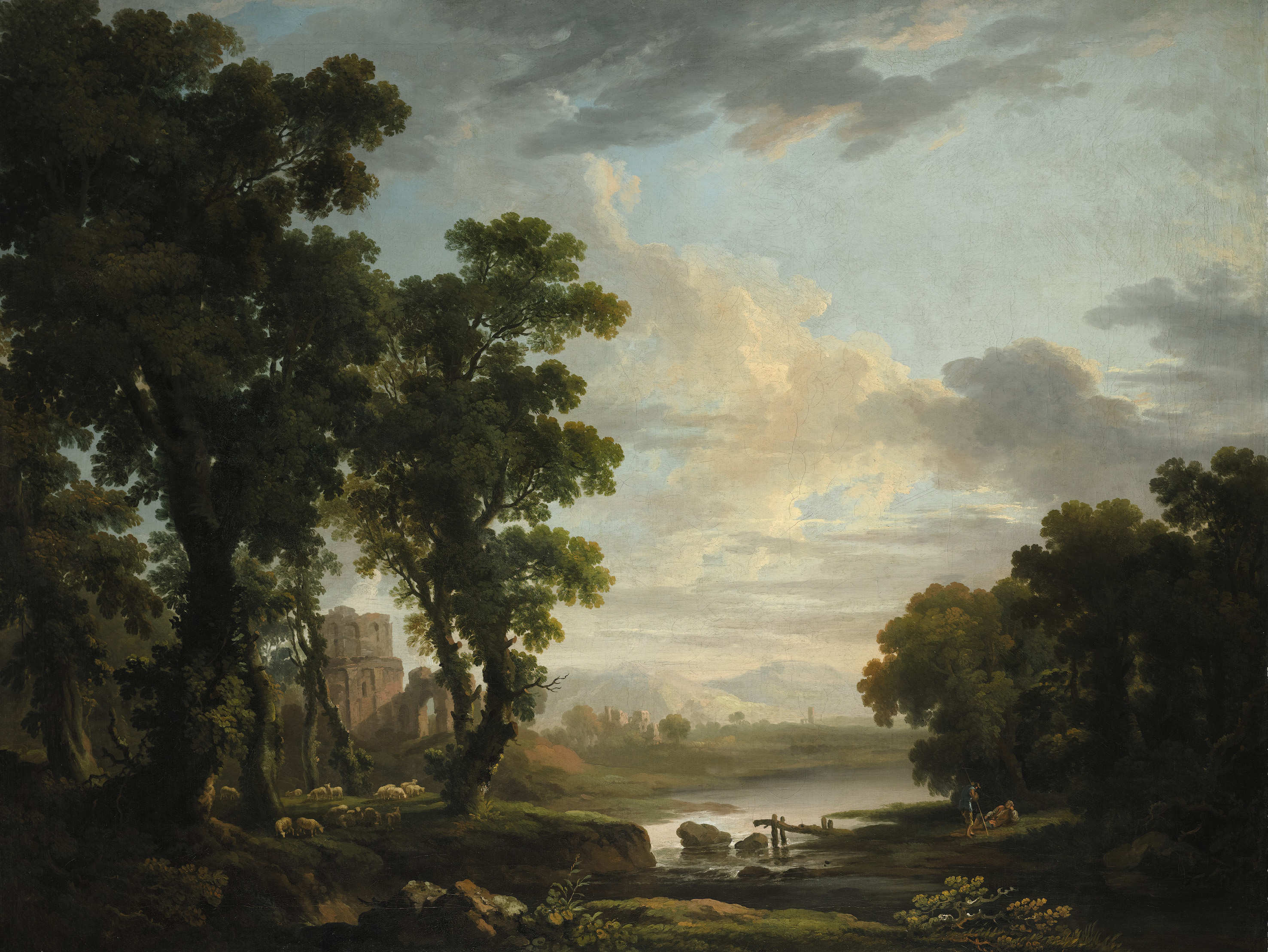 Landscape By George Barret At Sotheby S