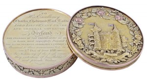 A George III Irish freedom box, Dublin 1816 (15,000-20,000).