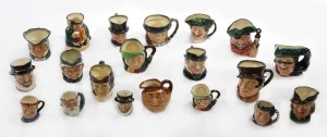 A collection of Royal Doulton toby jugs (200-300).