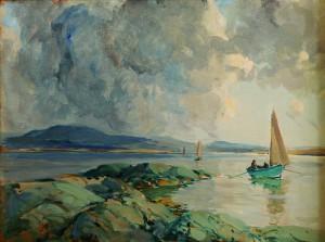 James Humbert Craig RHA RUA (1878-1944) Going Home (7,000-9,000).