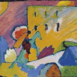 Studie zu Improvisation 3 by Wassily Kandinsky is estimated at £12.18 million. CHRISTIE'S IMAGES LTD. 2013 (CLICK ON IMAGE TO ENLARGE).