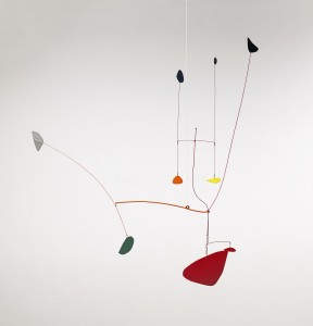 Calder, Alexander., Untitled (Tuning Forks), 1939, (£300,000-400,000).  Click to enlarge.