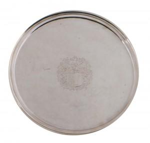Silver tazza, Cork, circa 1720, Maker William Clarke, Provenance; Westrop Collection 795 grams (8,000-12,000).