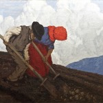 The Potato Diggers by Paul Henry at Adams.  Click on image to enlarge.