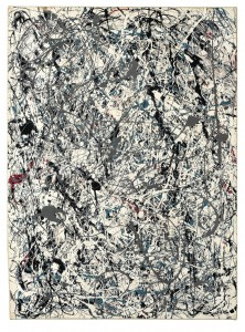 Jackson Pollock (1912-1956) Number 19, 1948, courtesy Christie's Images Ltd., 2013.