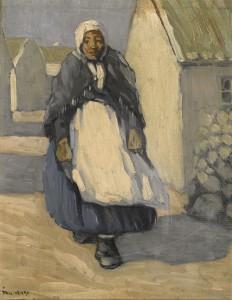 Paul Henry (1876-1958) Achill Woman £70,000-100,000).