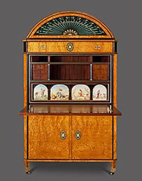 The Beethoven Secretaire c1815, Pelham Galleries.