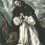 El Greco, St Dominic in Prayer.  (Click on image to enlarge).