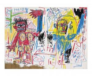 Jean-Michel Basquiat (1960-1988) Untitled 1982.  (Christie's Images Ltd., 2013).
