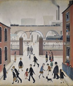 Laurence Stephen Lowry, R.A. (1887-1976) Industrial Landscape (£800,000-£1.2 million).  Courtesy Christie's Images Ltd., 2013.