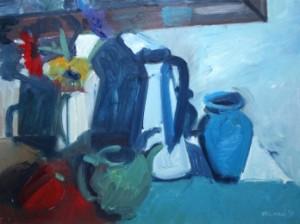 Brian Ballard RUA, Objects and Gerbras (1,000-1,500).