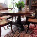 A Regency dining table (600-900)