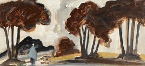 Markey Robinson (1918-1999) Walking Through The Woods  (800-1,200).