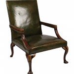 A c1750 Irish George II library chair made 2,400 at hammer at the St. Fin Barre's auction.