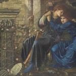 SIR EDWARD COLEY BURNE-JONES, BT., A.R.A., R.W.S. (1833–1898) Love among the Ruins (1870– 1873). ( SOLD FOR A RECORD £14.8 MILLION IN LONDON LAST WEEK.