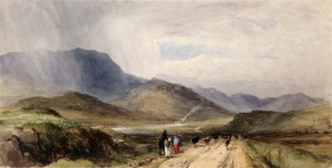 William Evans of Eton (1798-1877) Cor, Maam Valley, Connemara, 1838 Photo © National Gallery of Ireland