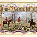 An illuminated address to Assheton Biddulph from the King's County Hunt in 1897 (3,000-4,000).