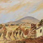 Tony O'Malley HRHA (1913-2003) Mount Leinster, Harvest 1951 (600-900)