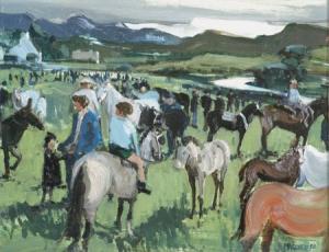 Cecil Maguire (born 1930) -Clifden Pony Show, 1962 (6,000-8,000).