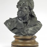 Inigo Jones - one of a pair of life-size busts after Michael Rysbrack, probably cast by John Cheere, circa 1740. Courtesy Christie's Images Ltd., 2013.